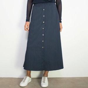 Anatomie Octavia Lux Stripe Navy Skirt NWTs Medium